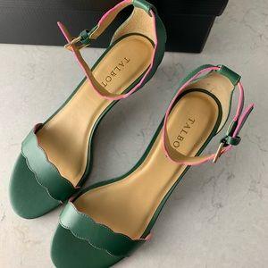 NEW Talbots Pila Scallop heel shoe